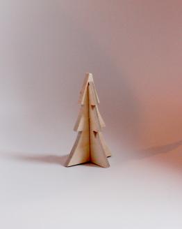 Lille juletræ i birketræ